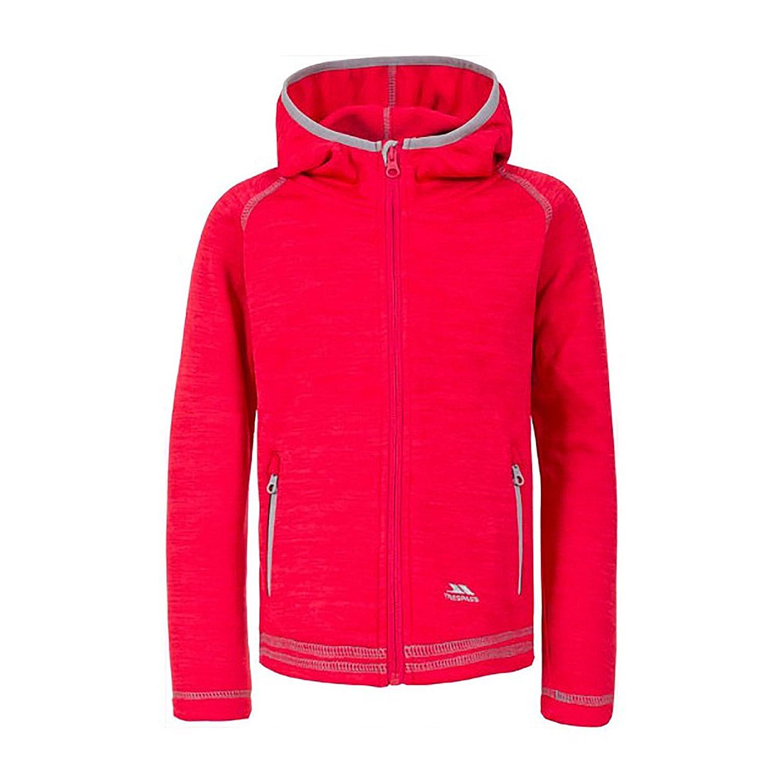 Trespass Childrens Girls Goodness Full Zip Hooded Fleece Jacket