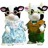 Sylvanian Families Abuelos Vaca Friesian