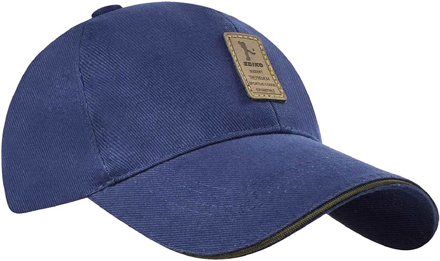 Tuopuda Baseball Caps Solid Color Cotton Hat Adjustable Size