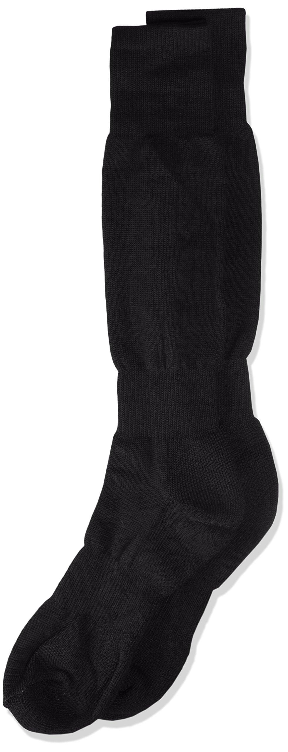 Varsity H/T Baseball Socks, Black, Size 10-13 by TCK