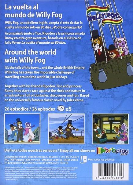 La Vuelta Al Mundo De Willy Fog [DVD]: Amazon.es: Personajes ...