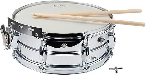 EAGLETONE HOJA - 14 x 5 tambores caldera de acero: Amazon.es: Instrumentos musicales