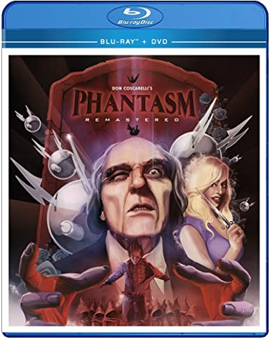 Amazon.com: Phantasm: Remaster [Blu-ray/DVD Combo]: Angus Scrimm, A. Michael Baldwin, Reggie Bannister, Don Coscarelli: Movies & TV