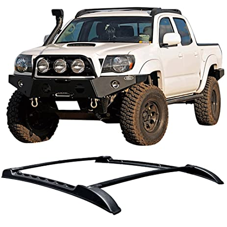 Roof Rack Assy Fits 2005 2017 Toyota Tacoma DOUBLE CAB | OE Style Unpainted  Black