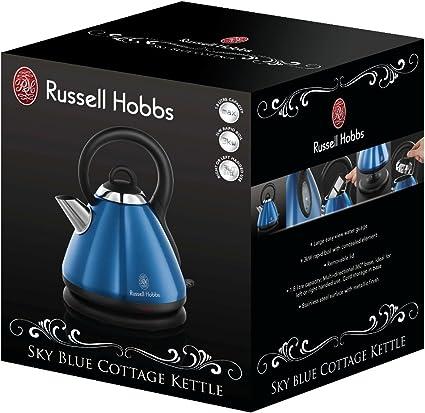 Russell Hobbs Sky Blue Cottage Wasserkocher 18588 56