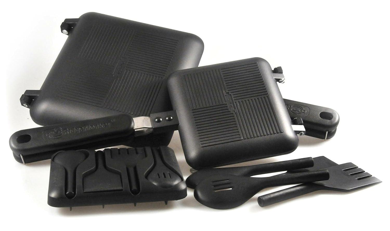 RidgeMonkey sandwich toasters in black
