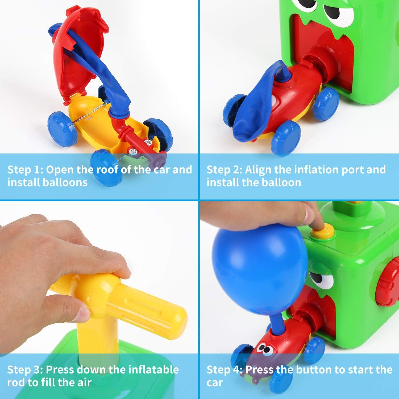 FORMIZON Inertial Power Balloon Car, Kids Balloon Car Toy