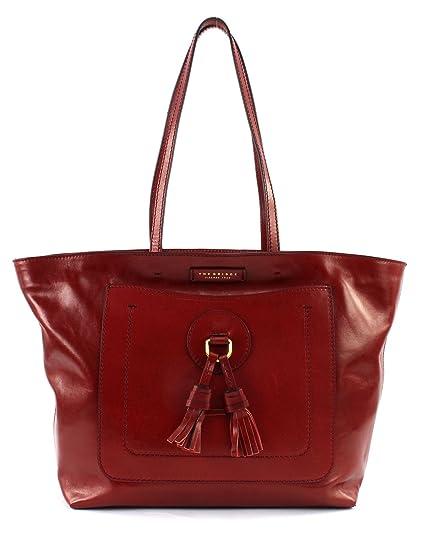 4ceb505d2b54 THE BRIDGE Santacroce Shopper Bag Rosso Ribes  Amazon.co.uk  Shoes ...