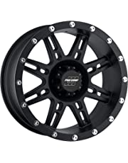 amazon truck suv wheels automotive street off road 1970 Chevy C10 Frame Swap pro p series 31 stryker matte black 16x8 6x5 5 6mm