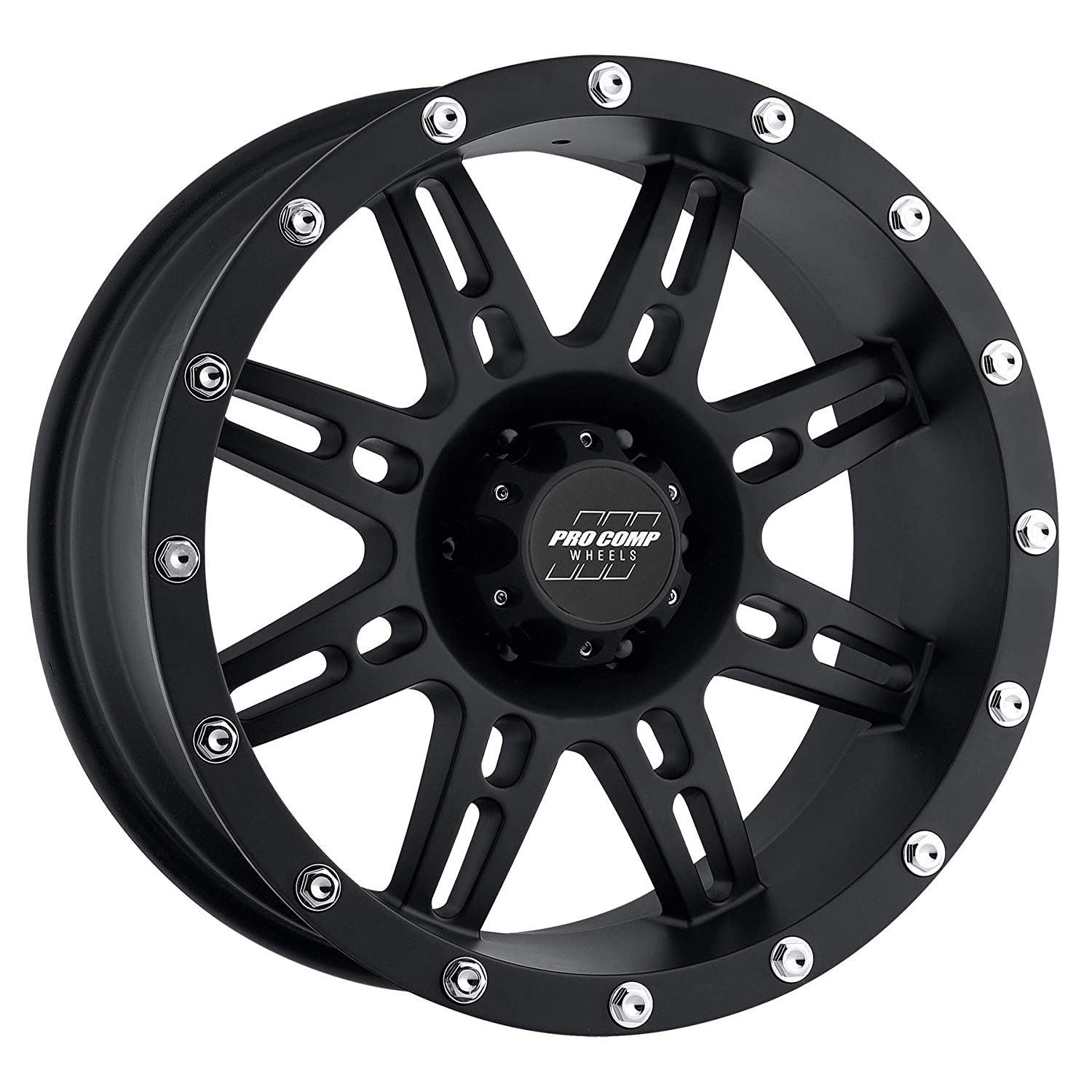 PRO COMP Series 31 Stryker Matte Black (16x8 / 6x5.5 / -6mm) Pro Comp Wheels PXA7031-6883