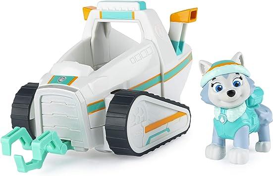 Comprar PAW PATROL- Paw VHC BscVeh CB ECMX GML, vehículo de arado de Nieve de Everest con Figura Coleccionable, para niños de 3 años y más, Multicolor (Spin Master 6058278)