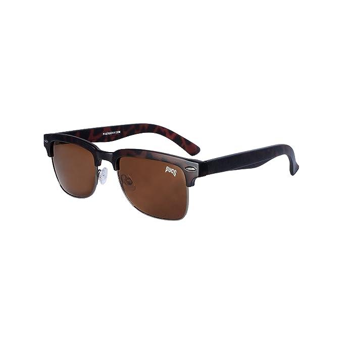 09d5089a1ef53 1201B Pugs 100% UV Wayfarer Sunglasses (Tortoise