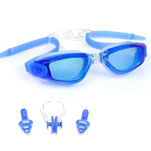 20 opinioni per Occhialini da Nuoto-Antinebbia,Ermetico,Regolabile,Protezione UV per Uomini e