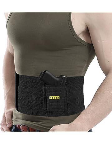 Banda táctica, cinturón de seguridad con funda, banda elá