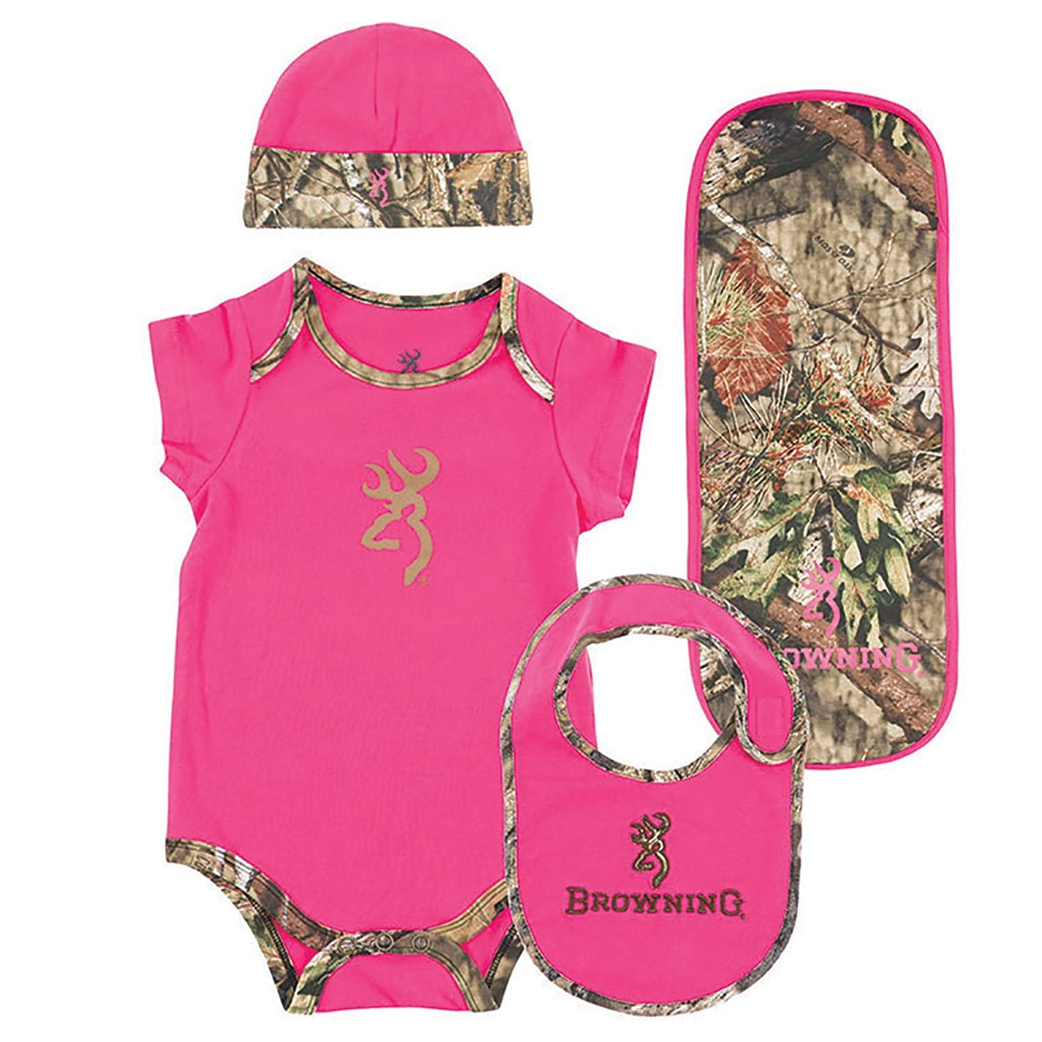 Baby Camo Outfit Clothes Browning Girls Months Set