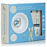 Beatrix Potter Peter Rabbit 5 Piece Melamine Dinnerware Set