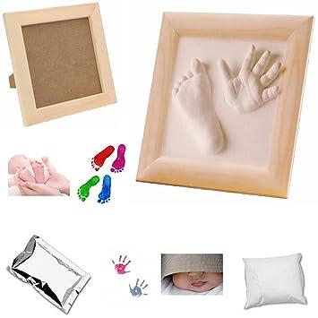 LS-Design Baby Gips Abdruck Gipsabdruck Handabdruck Gipsset Gips-Set ...
