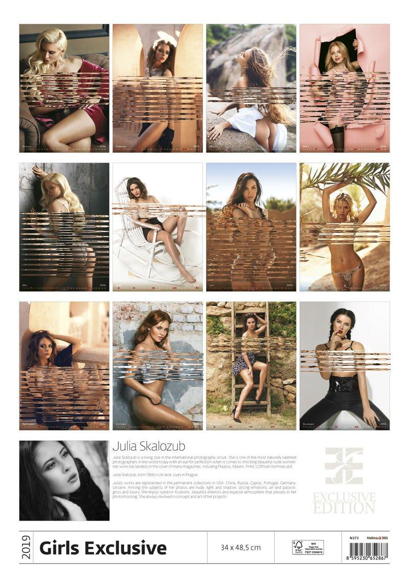 GIRLS EXCLUSIVE CALENDAR 2017 by MegaCalendars: Amazon.de ...