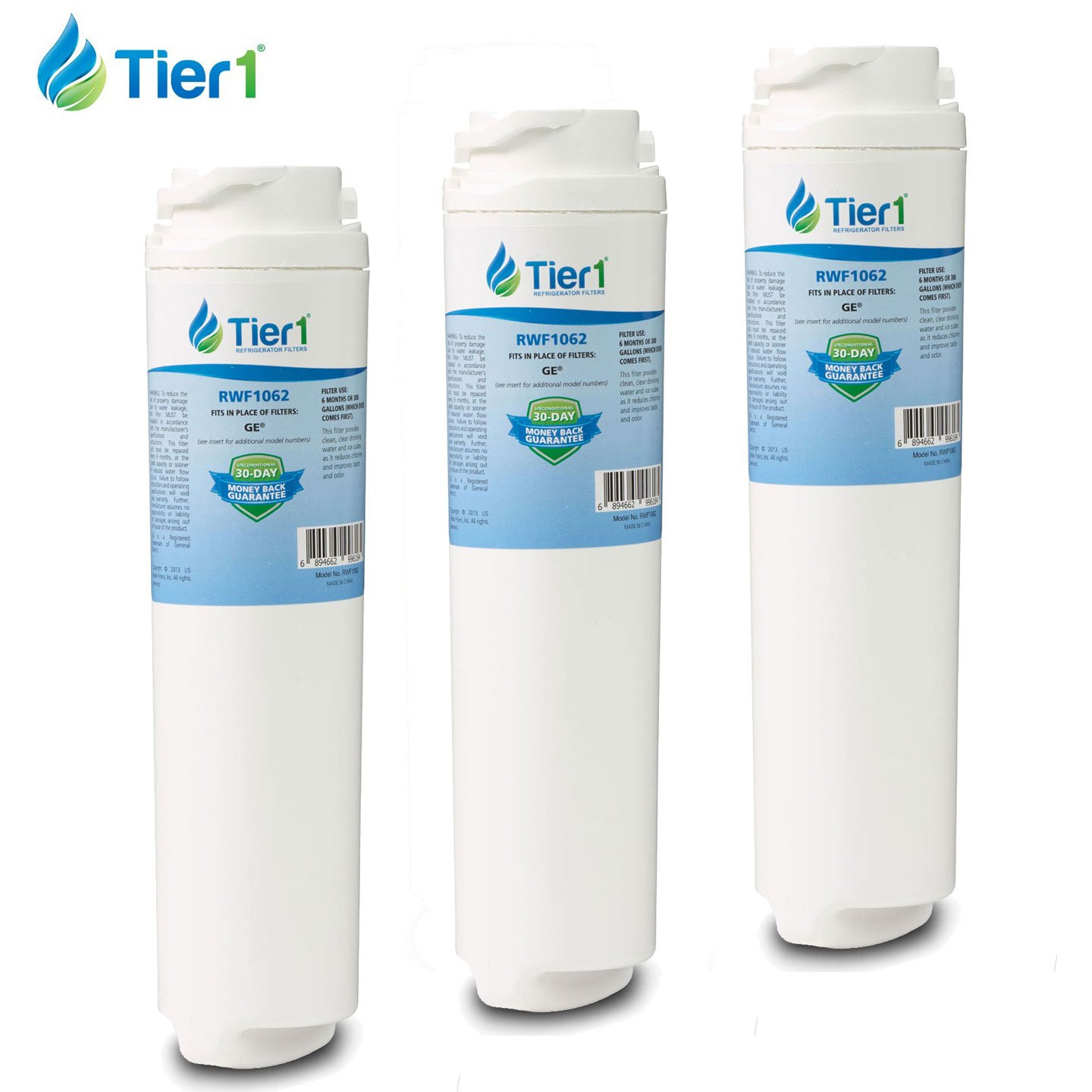Ge Appliances Water Filter Amazoncom Tier1 Rwf1062 Ge Replacement Refrigerator Water Filter
