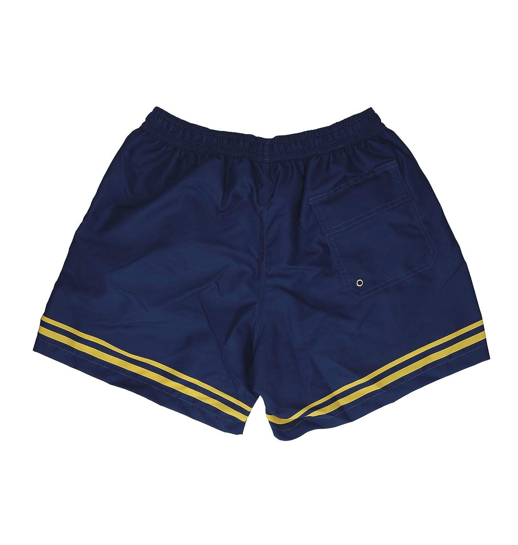 GCDS Mens SS18M02000608 Blue Polyester Trunks