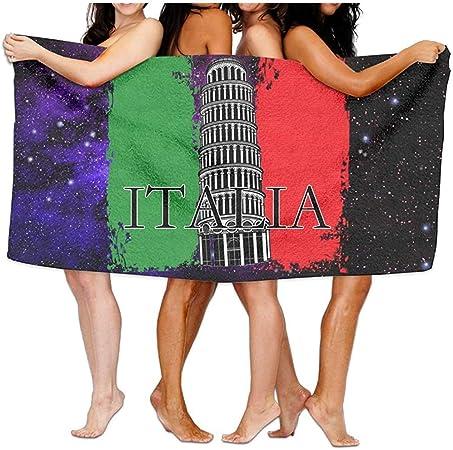 Olie Cam Torre Unisex de Pisa Bandera Italiana Toallas de Playa Toallas de baño Toalla de Viaje: Amazon.es: Hogar