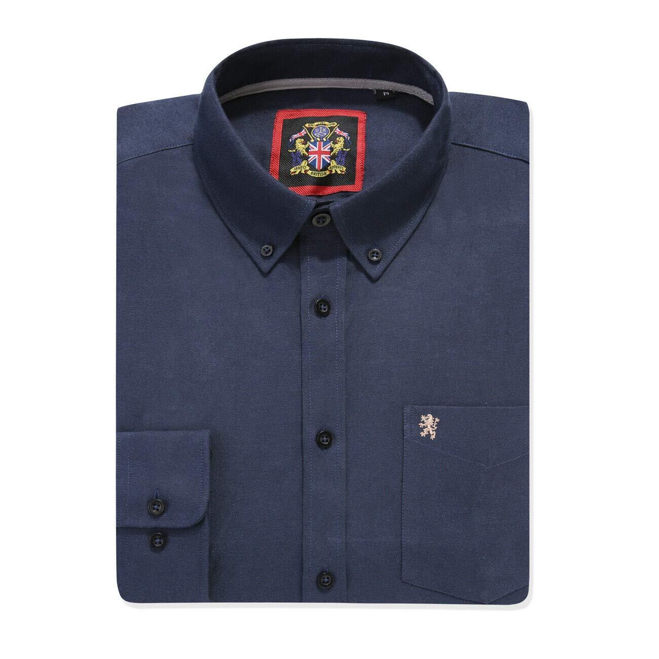 Janeo Mens Shirts - Camisa Formal - para Hombre Azul Azul Marino ...