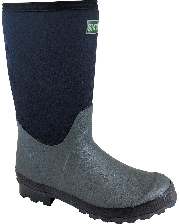 85a265c2653 Amazon.com | Smoky Mountain Boys' Amphibian Boot Round Toe | Boots