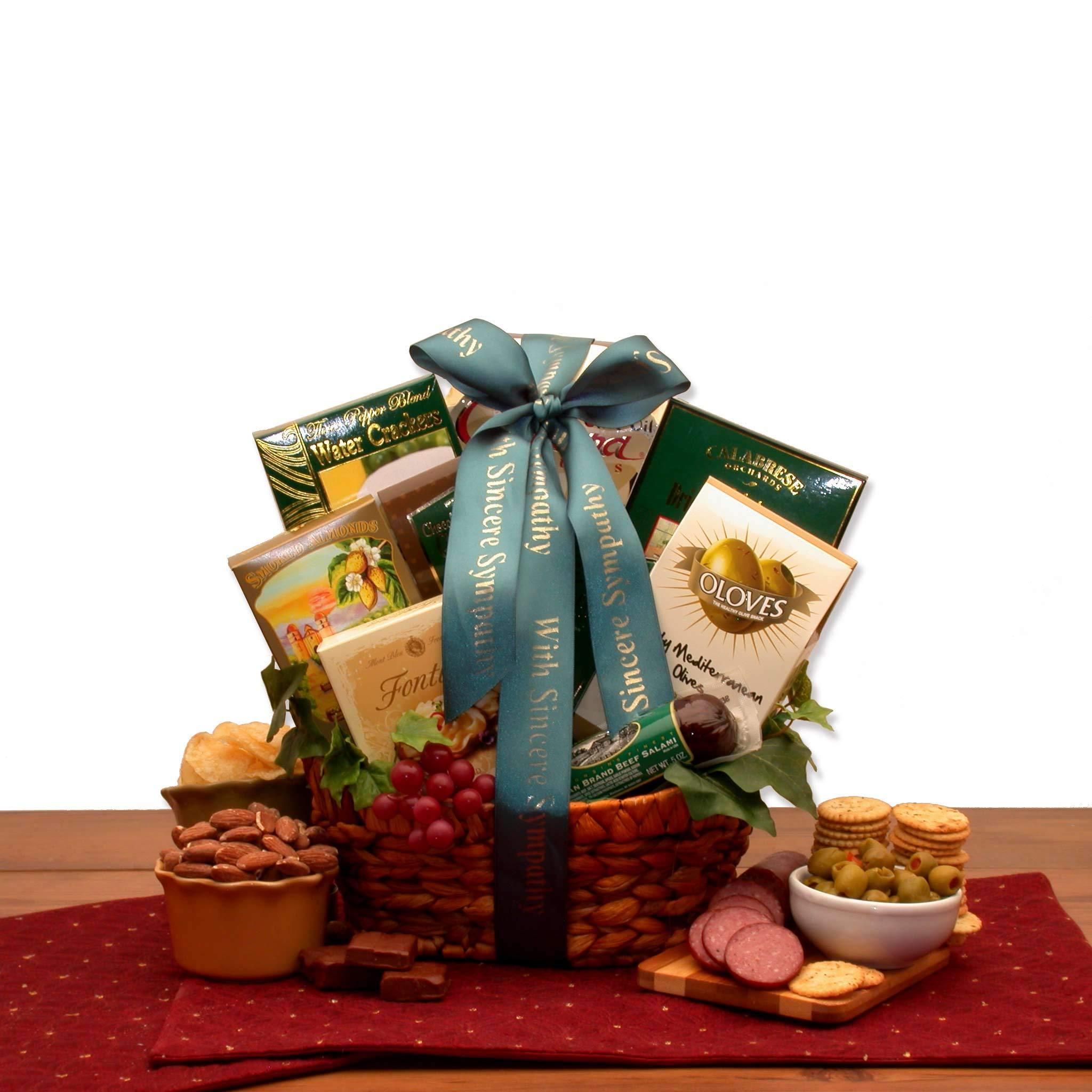 In Loving Memory Sympathy Gift Baskets