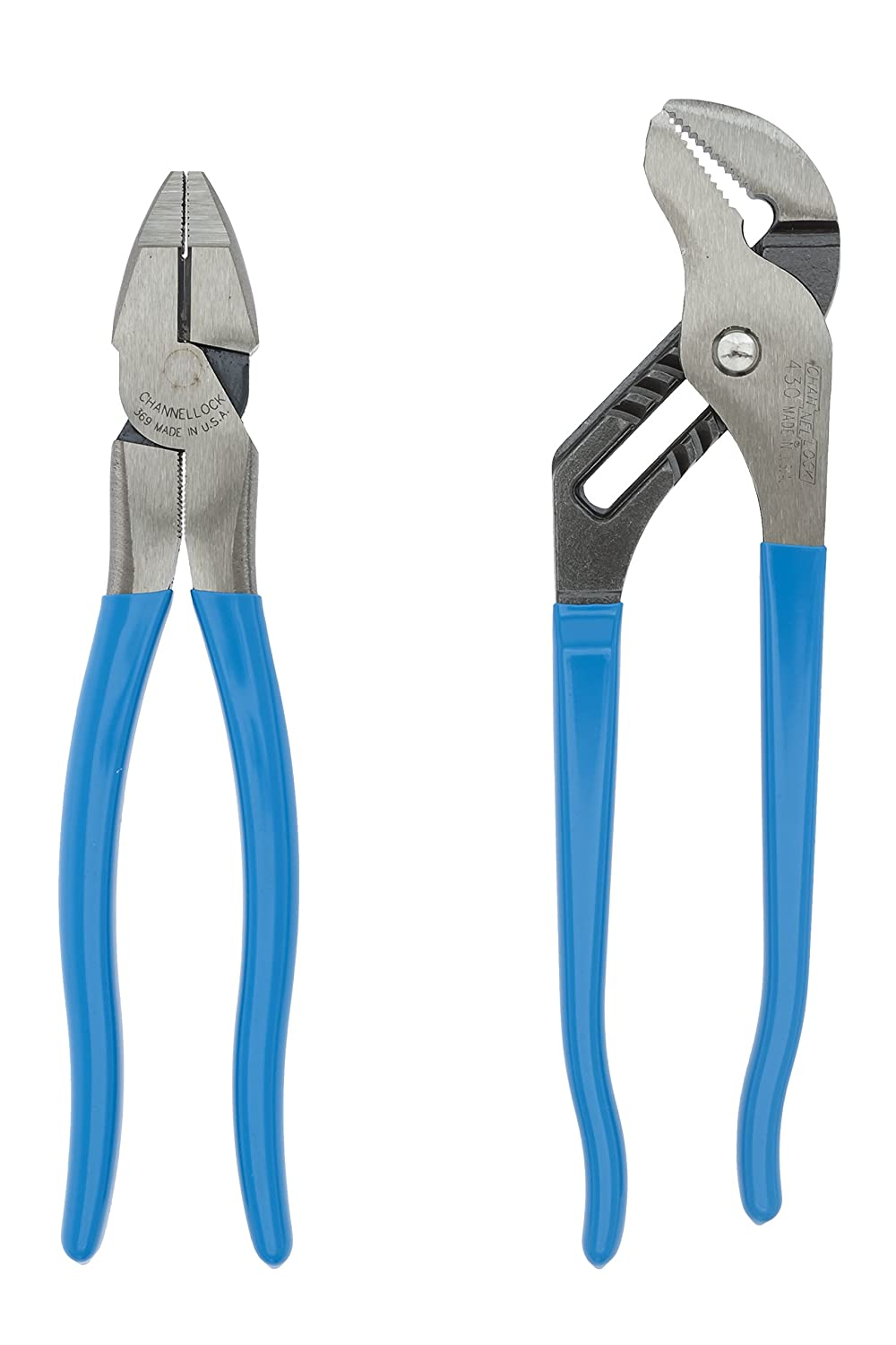 430 and 369 Channellock GS-10 2-Piece Plier Set