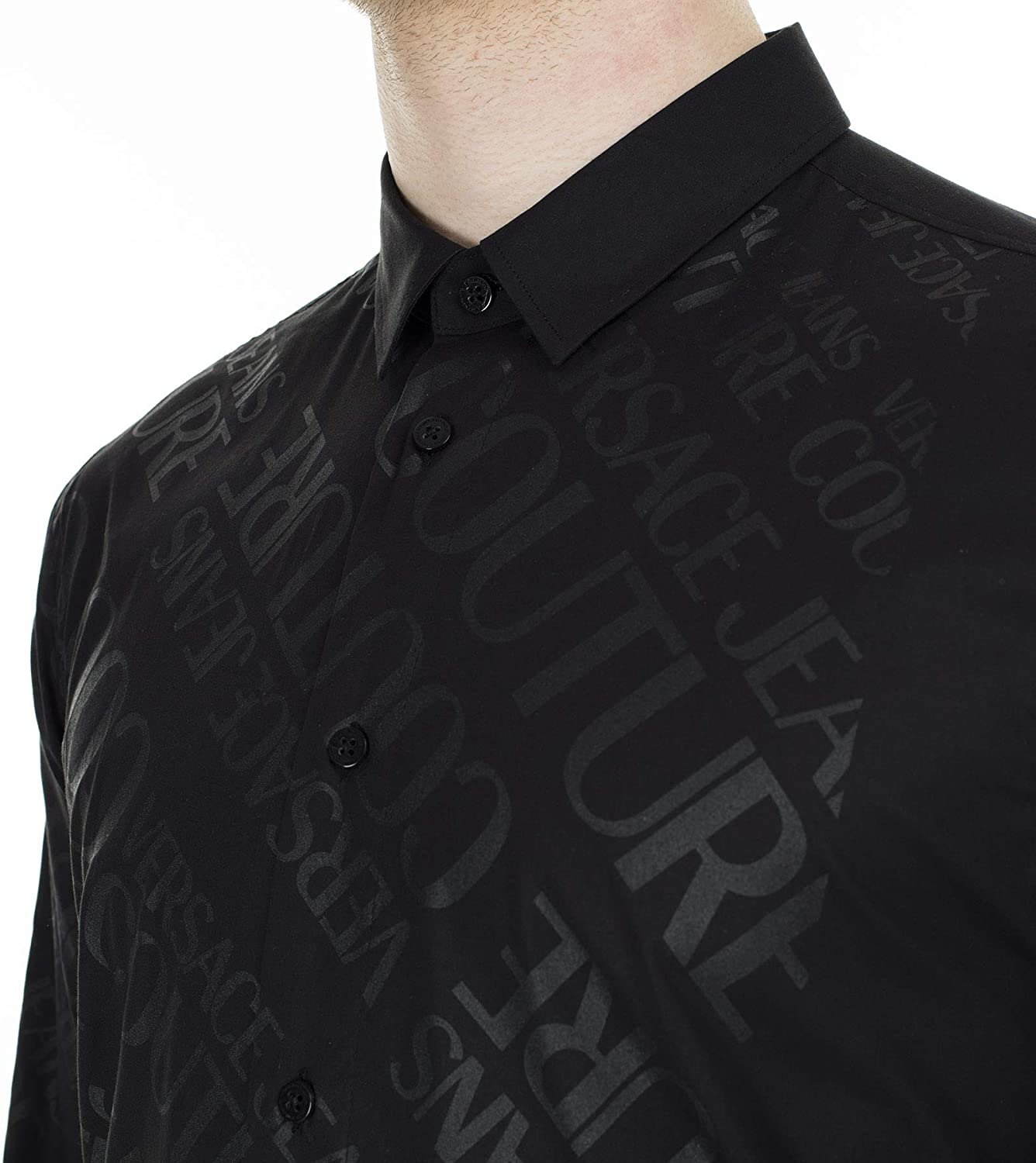 Versace Jeans Couture B1GVB6S1-30205 Casual - Camisa para ...