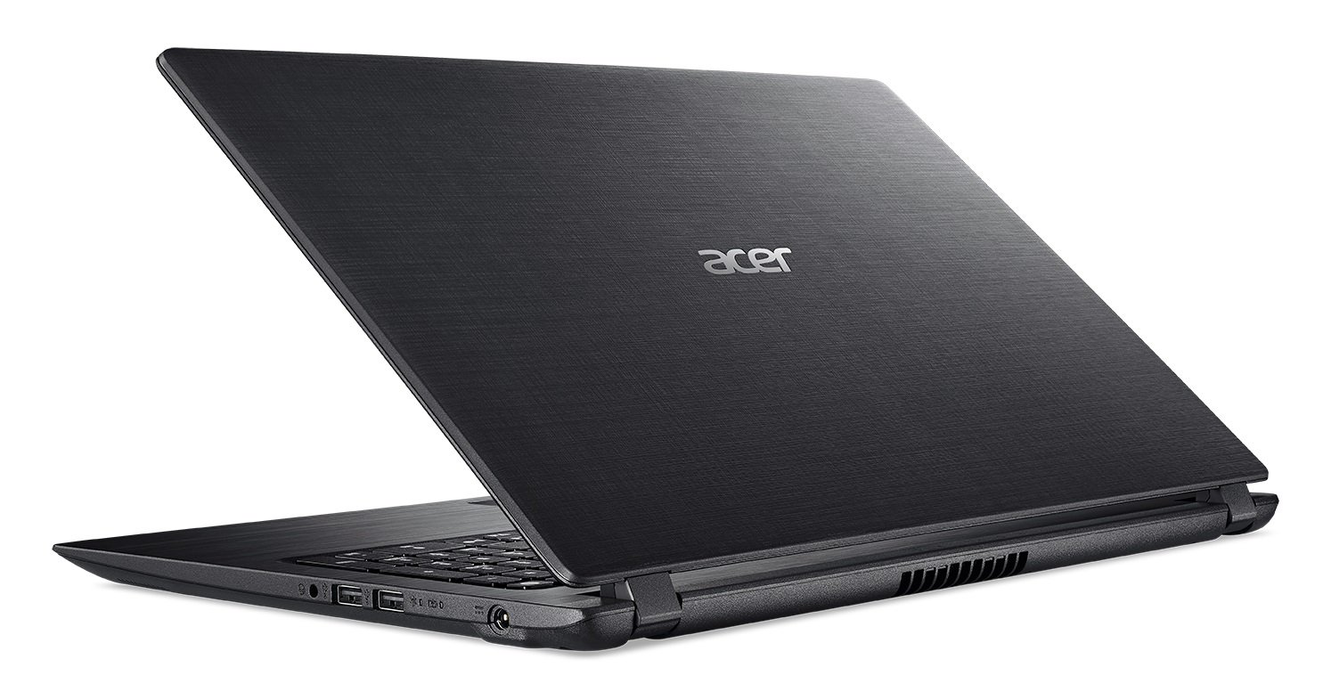 Acer Aspire 3, A315-31 15.6-inch Laptop (Celeron 3350/2GB/500GB/Linux/Integrated Graphics_Obsidian Black)