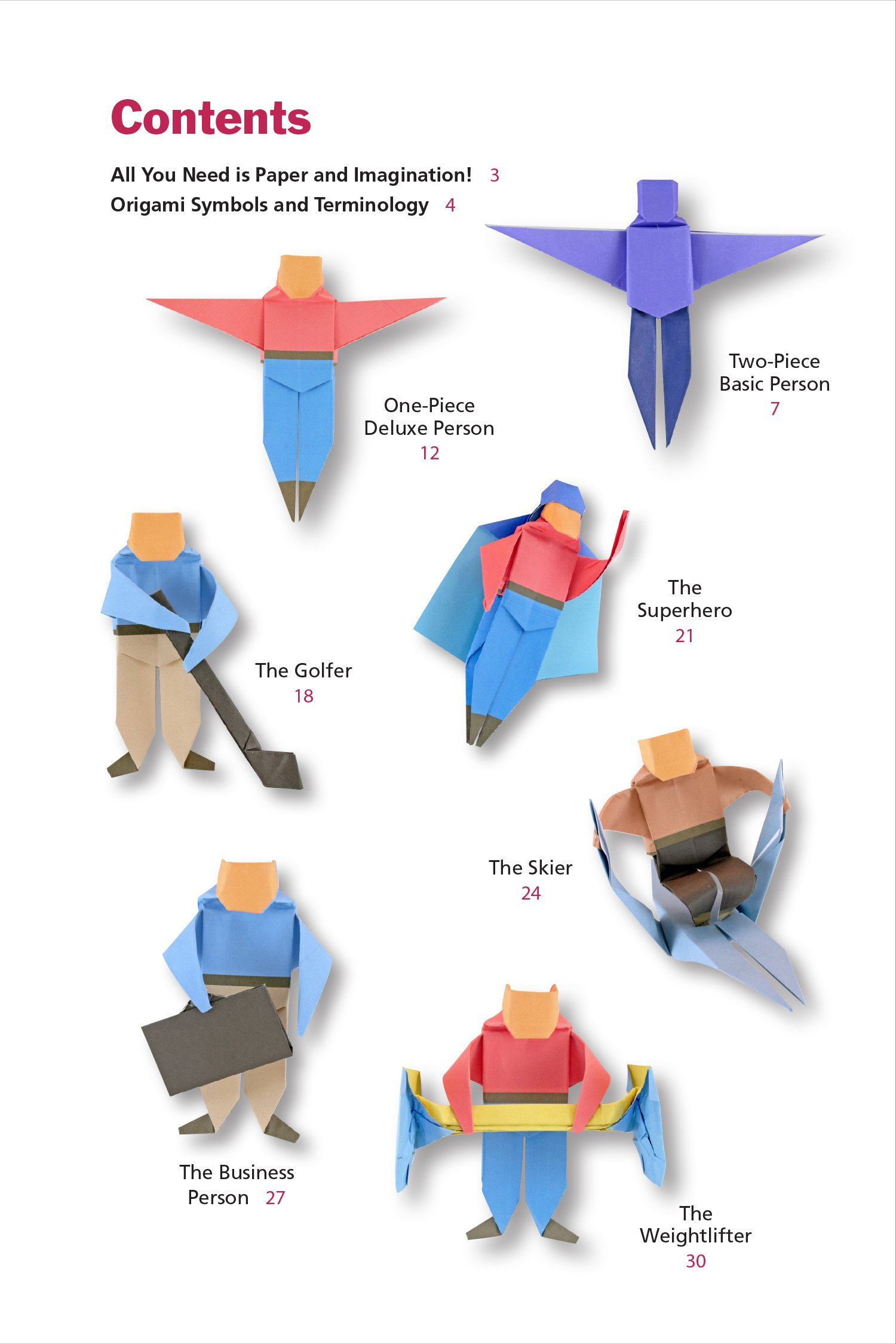 Origami Humans Kit Customizable Paper People Full Color Book 64 Dog Diagram Sheets Of 100 Stickers Video Tutorials Marc Kirschenbaum