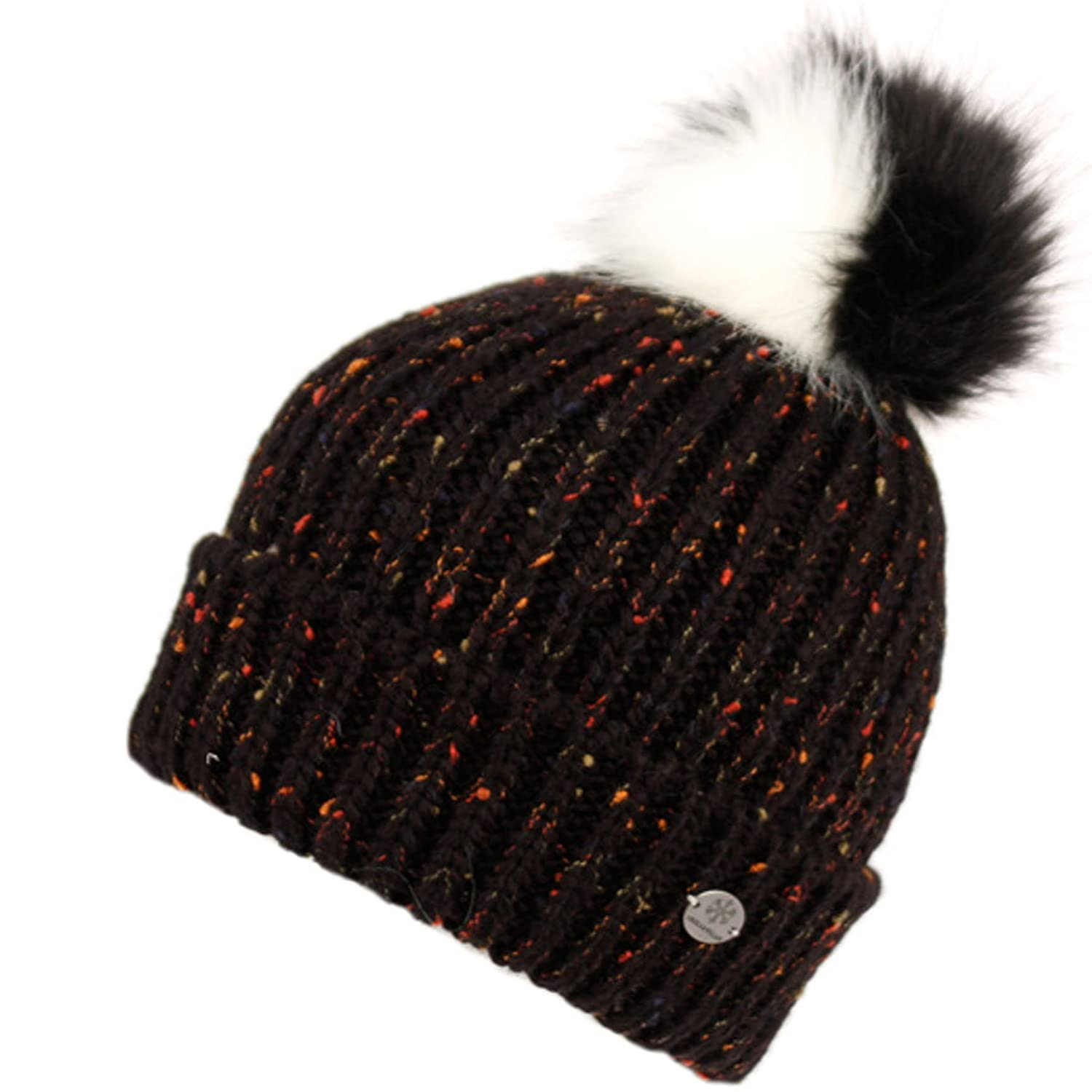 e1c0fddd4 Confetti Knit Beanie - Thick Soft Warm Winter Hat With Colorful Faux ...