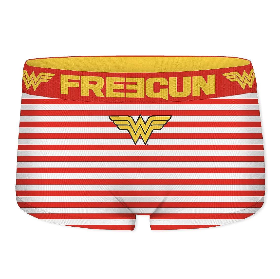 FREEGUN Girls DC Comics Wonder Woman Boyshort