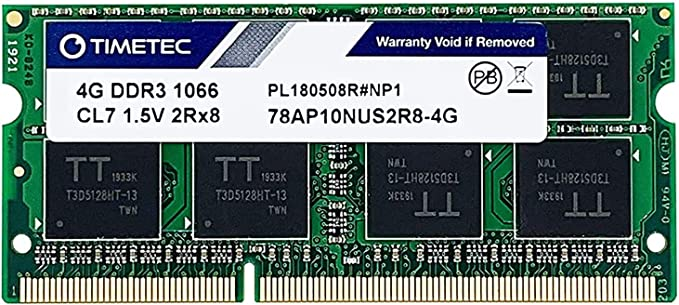 2GB DDR3-1066 RAM Memory Upgrade for The Acer TravelMate TM7750-2434G50MNSS PC3-8500