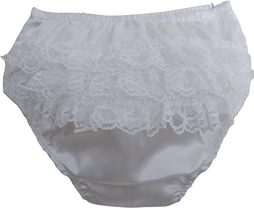 Nouveau-né Bébé Bloomers culottes filles en Coton Dentelle à Volants Couche Diaper Cover Lovely
