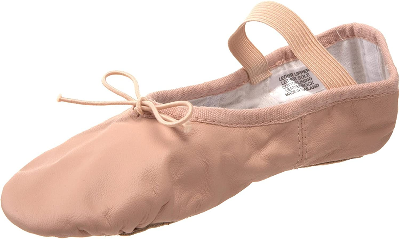 Bloch Unisex-Child Dance Girls Dansoft Full Sole Leather Ballet Slipper//Shoe