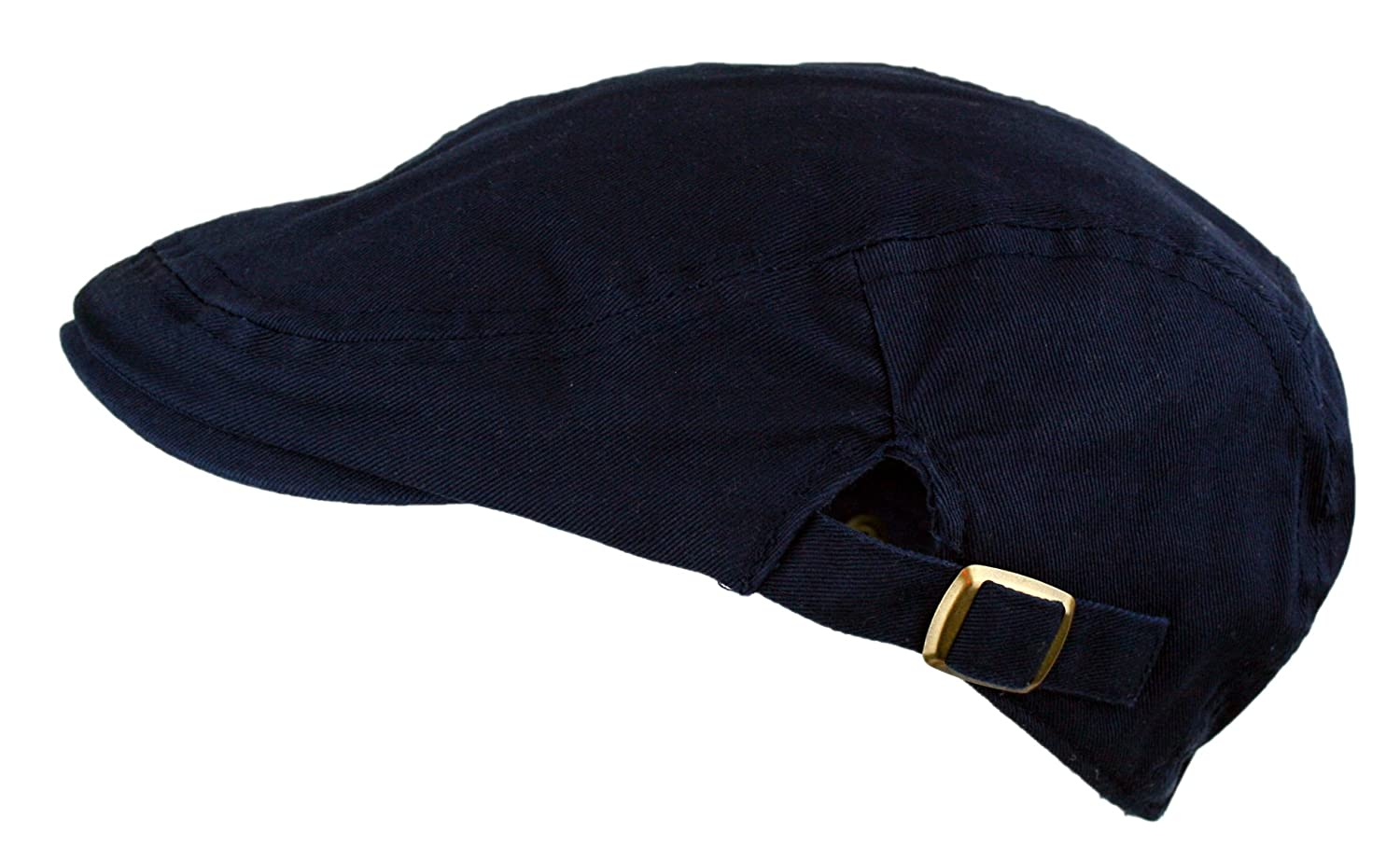 d5f98d58866 Men s Cotton Flat Cap Ivy Gatsby Newsboy Hunting Hat (Navy)  Amazon.in   Clothing   Accessories