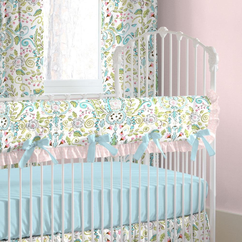 Carousel Designs Love Birds Crib Rail Cover by Carousel Designs