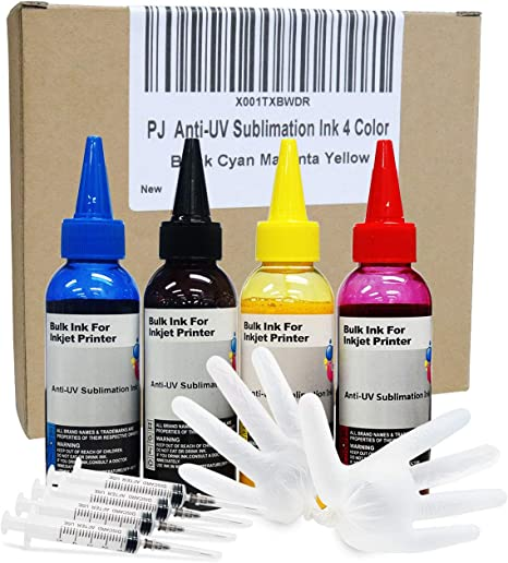 Amazon.com: PJ - Tinta de sublimación para impresoras ...