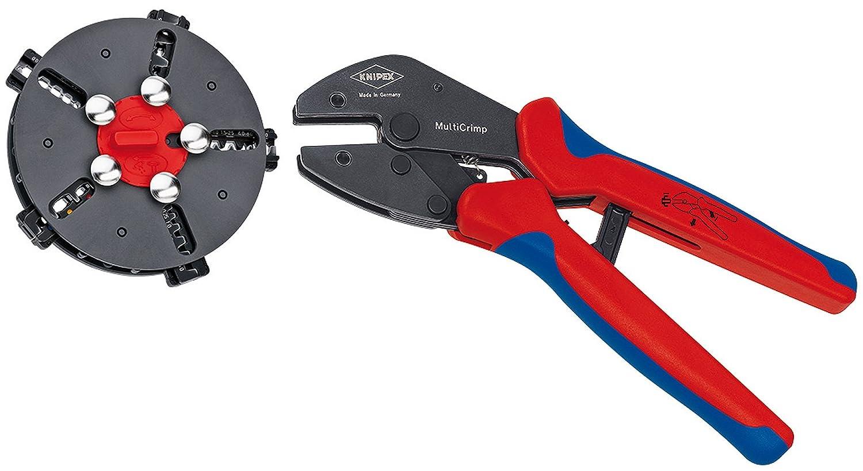 クニペックス KNIPEX 交換マガジン付き圧着プライヤー 9733-02 [並行輸入品] B06XW3F35V