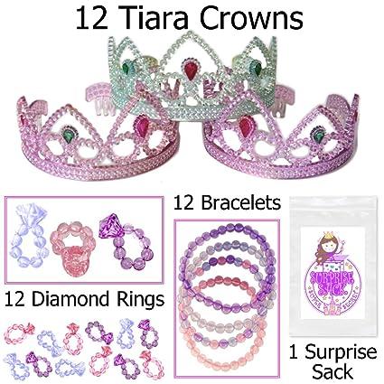 Amazon.com: Tiaras, anillos de diamante, pulseras de joyería ...