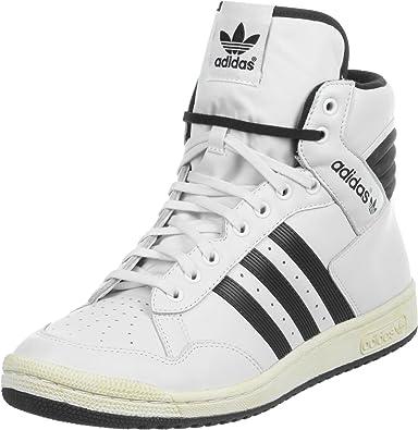 Adidas Damenschuhe New Pro Conference HALLO Weiß Schwarz Fashion Sportschuhe