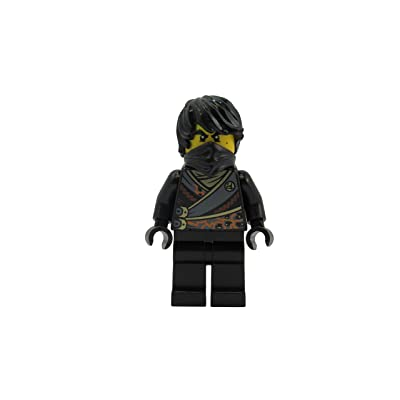 LEGO Ninjago- Cole (Rebooted) Minifigure: Toys & Games