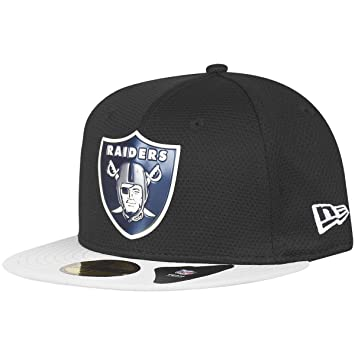 NEW ERA 59FIFTY-Gorra Chrome Oakland Raiders Negro