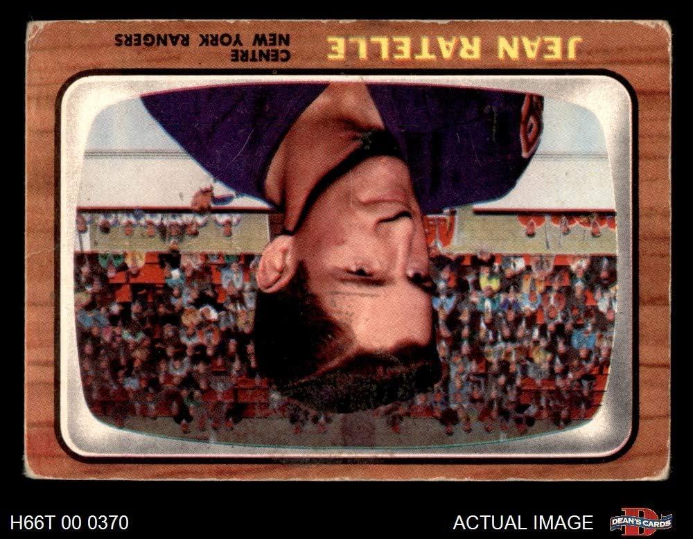 1966 Topps # 29 Jean Ratelle New York Rangers-Hockey (Hockey Card) Dean's Cards 2 - GOOD Rangers-Hockey 71E0fZAg30L