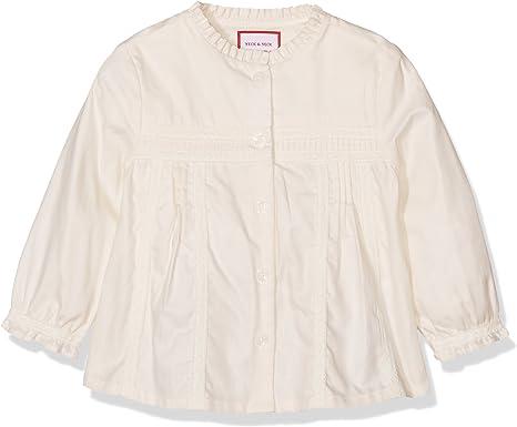 neck & neck NIÑA-16I07114 Camisa, Crudo 12, 18M para Niñas: Amazon.es: Ropa y accesorios