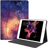Fintie iPad Pro 10.5 Case - [Sleek Shield] Premium PU Leather Slim Fit Multi Angle Stand Cover with Pocket, Auto Wake / Sleep for Apple iPad Pro 10.5 Inch 2017 Release Tablet, Galaxy