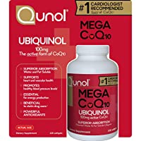 Qunol Mega CoQ10 Softgels, 100 Mg - 120 Count