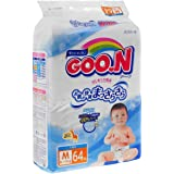 GOO.N Baby Couches Taille M (6-11 kg), 68 pièces Excellente Qualité Made in Japan